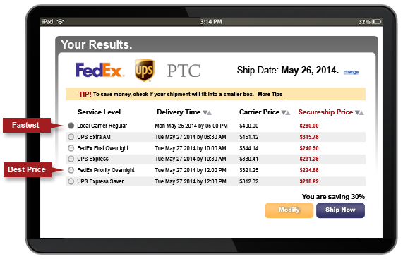 Find the Best and Cheapest Way to Ship your packages: Track, Ship
