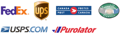 Integrate with FedEx, UPS, CanadaPost, PTC, USPS, & Purolator
