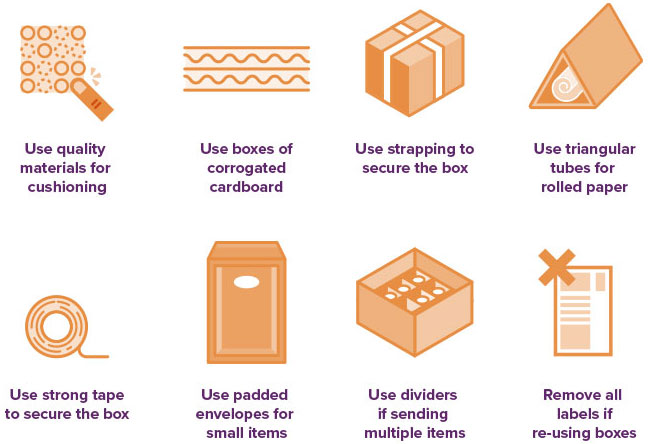 Here are a few tips you can do to reduce your chances of your shipment being damaged while in transit
